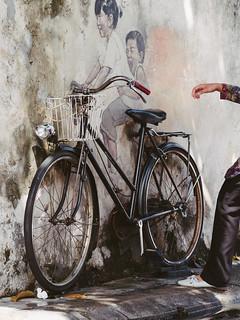 Bicycle series - penang murial
