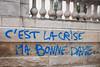 "#Manif10octobre #Nantes #GameOfTags: ""C'est la crise ma bonne da (ValK.) Tags: gameoftags loitravailxxl pjlterrorisme loitravail cabanedupeuple etatdurgencepermanant maisondupeuple nantes politique valk demonstration fonctionpublique graff graffiti greve intersyndicale manifestationunitaire social tag"
