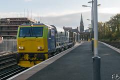 RHTT New Brighton (frisiabonn) Tags: rhtt mpv dr98951 cleaning railway station networkrail dr98901 uk britain new bighton wirral merseyside rail dmu