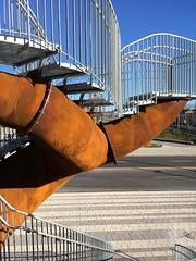 Michel de Broin, Dendrites, 2017 (art_inthecity) Tags: montreal montréal sculpture placebonaventure artpublic publicart installationparticipative participativeinstallation canada acier micheldebroin