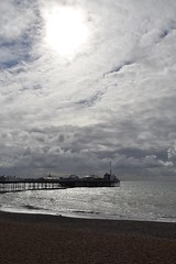 stormy sky (curly_em) Tags: brighton eastsussex england seaside beach sea pier cloud sky sunshine stormy