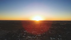 Sun set. (theadamrainwater) Tags: sun set sunset sky aerial drone phantom 3 standard
