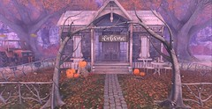 Welcome Autumn (Reaghan Resident) Tags: scarletcreative harrypotteringshed collab88 mesh gacha furnishings homeandgarden homedecor virtualhomes virtualliving jian tspot peaches dreamscapesartgallery studioskye thearcade