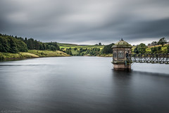Captured (Anthony P26) Tags: architecture category england external landscape lowerlaithereservoir places travel westyorkshire yorkshire water lake reservoir british greatbritain english clouds greyclouds longexposure motionblur station hut brick structure construction building hills trees sky cloudy canon1585mm canon70d canon outdoor landscapephotography travelphotography