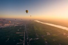 Amanecer en Luxor (Ricardo Martinez Fotografia) Tags: 2017 africa amanecer balloon d810 egipto egypt fun globo golden landscape luxor nikon ricardomartinezcl sunrise travel viajar