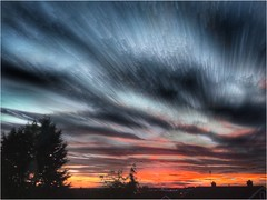 Setting (andystones64) Tags: sun sunset sunlight sunlit longexposuree clouds sky skywatching weather nature scunthorpe lincolnshire nlincs dusk exposure horizon image imageof imagecapture uk movement motion outdoors view
