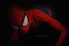 Spider-man 1 (Ag-NO3 Angelo Sampino) Tags: uomo ragno spider man spiderman ombre shadows primo piano ritratto fumetto marvel portreit light luce eyes occhi red blu rosso nipponbashi treviso nikon d700 angelo sampino agno3