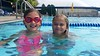 Lily & Violet In The Pool (Joe Shlabotnik) Tags: galaxys5 violet lily pool swimmingpool 2017 blurry sarahp cameraphone wstc september2017