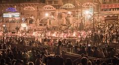 Varanasi - Ganges River - boat - Ganga Aarti prayer-3