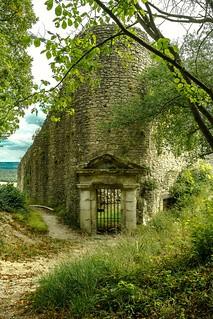 Donjon du chateau de la Roche Guyon