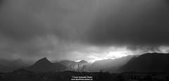 Winter arrive 171017 BW (June Grønseth EFIAP PPSA) Tags: lofoten laukvik blåløngtinden clouds winter junegrønseth bestphotolofoten spectacular bwphoto