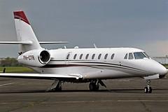 PH-CTR CESSNA CITATION SOVEREIGN NEWCASTLE (toowoomba surfer) Tags: bizjet businessjet executiveaviation jet aeroplane aviation aircraft ncl egnt
