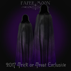 *pm* 2017 Trick or Treat exclusive poster (the_innocence) Tags: pm papermoon occult spiritual mystical mysterious trickortreat halloween prize treat cloak exclusive