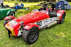 Caterham 7 in Paddock (John Tif) Tags: 2017 caterham7 crystalpalace car motorspot