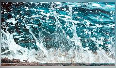 Blue Water (Persian.Gulf) Tags: blue motion cold venezia venetian lagoon canon 700d 18135 italia