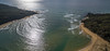 Bithry Inlet (OzzRod) Tags: dji phantom phantom3advanced quadcopter fc300s aerial oblique seascape sea lake estuary entrance waves diffraction sandbars intothesun reflection glare wapengo bithryinlet petrov