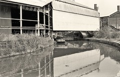 Etruria canalscape (Lost-Albion) Tags: trentmerseycanal shelton etrutia stokeontrent staffordshire pentax 1979