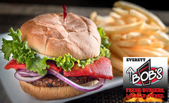Smoked Jalepeno Black Bean Burger (*HMG*) Tags: restaurantsnewamericancusineburgersbrewbeercheeseburgersveganburger domesticbeerimportbeercraftbrew foodphotography hd pentaxd fa 2470mm f28ed sdm wr