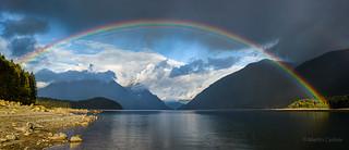 Alouette Lake, Rainbow