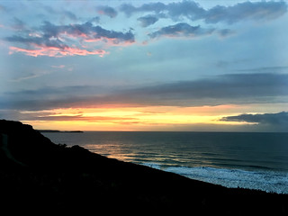 Sundown at Newquay
