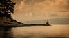 Loggos at Twilight (Rupert Brun) Tags: 2016 greece greek holiday ionian paxos loggos twilight dusk evening sea harbour arm water cloud calm peace
