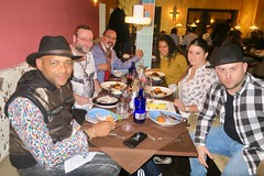 "Dinner with singer Descemer Bueno (who is actually the cousin of my cousin) before his live concert in Do Brasil City. Munich, Germany  Oct 2017 #itravelanddance ""Súbeme la radio"" & ""Bailando"" are 2 of his last's hits.  Cuban flavor in da house • <a style=""font-size:0.8em;"" href=""http://www.flickr.com/photos/147943715@N05/37944734746/"" target=""_blank"">View on Flickr</a>"