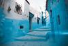 Dead end (Leo Hidalgo (@yompyz)) Tags: chefchauen marruecos المغرب almaġrib morocco blue village street landscape