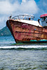 New Purpose for MV Asylum-3105 (islandfella) Tags: lilet petitcarenage kanache red boat vessel ship wreck shipwreck rusty seagulls gulls brownpelican mangrove coastline shallow sea caribbean westindies carriacou grenada grenadines island islandfella davon water