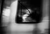 RUSH 60.365 (ewitsoe) Tags: autumn ewitsoe nikon d80 35mm street cityscape urban window blur surrealistic woman lady smile poznan poland lookingoutofthewindow motion movement monochrome bnw blackandwhite