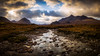 River Divide (Augmented Reality Images (Getty Contributor)) Tags: munros longexposure isleofskye landscape storm highlands scotland water mountains leefilters river canon sligachan island clouds unitedkingdom gb