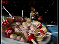Happy Halloween 🎃 (Seiji-Univers) Tags: seijiunivers seiji bjd balljointeddoll poupée tan ebony purple lillycat cerisedolls chibi chibbi lana jyotsana cute outfit halloween girl lollipop sucette bonbons sweet candy vegan veganfood veganhalloween happy 2017 france yosd