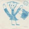 """Ascoli com'era: il piccolo Lorenzo disegna """"il bambino che va a scuola"""" (1983) (Orarossa) Tags: 0450619 italy lombardia italia milano lorenzoisopi disegno 1983 bambinochevaascuola"""