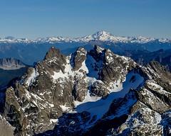 Three Fingers Mountain (otterdrivernw) Tags: xf18135 fujix xt2 fujifilm fuji aerials aerial washington pnw upperleftusa northcascades cascades glacierpeak threefingers mountains