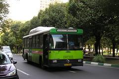 Mercedes Benz service bus, Tehran, Iran. (KK70088) Tags: bus servicebus localbus publictransport iran tehran mercedesbenz ایران تهران ایرانخودرو