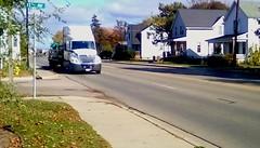 Truckin ' - HTT (Maenette1) Tags: truck white longhaul highwayus41 menominee uppermichigan happytruckthursday flicker365 michiganfavorites