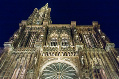Night (leniners) Tags: 2017 france strasbourg cathedrale cathedral night nuit