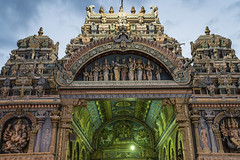 Hindu temple (Christoph H-P) Tags: hinduism temple tempel religion
