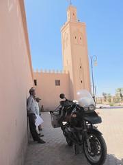 Tamegroute, Morocco. (Motorcycle Adventures) Tags: motorrad marruecos morocco motorcycle bmw tour r1150gs trail sahara desert desierto