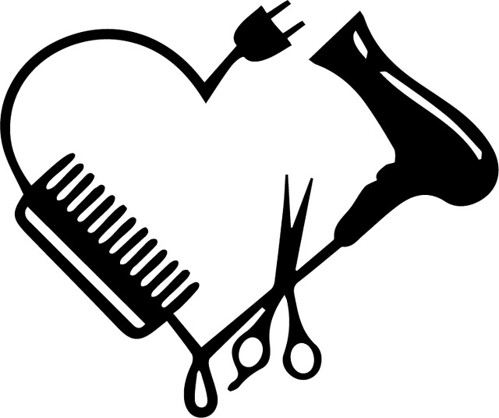 hairdresser heart