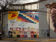 We will return Malvinas to the hand of Latin America (aestheticsofcrisis) Tags: street art urban intervention streetart urbanart guerillaart graffiti postgraffiti buenos aires bsas argentina la boca