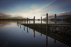 'Jetty' (Taken-By-Me) Tags: takenbyme slow long exposure blue view scene countryside country land lake jetty nikon north news d750 lakes cumbria