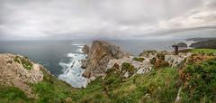 Cabo Peñas. (Amparo Hervella) Tags: cabodepeñas asturias españa spain nube panorámica agua cabo naturaleza color d7000 nikon nikond7000 nwn
