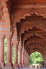 Pattern of arches (Oleg S .) Tags: archway pavilion architecture delhi india