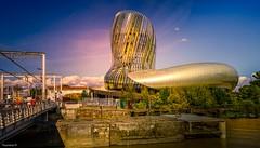 Cité du Vin Bordeaux (3) (YᗩSᗰIᘉᗴ HᗴᘉS +8 500 000 thx❀) Tags: citéduvin architecture bordeaux france aquitaine gironde garonne water sky waterscape hensyasmine