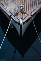 Nightfall (Sekiz Milan) Tags: milan sekiz boat croatia rijeka rovinj water dusk blue deep summer travel rope knot dock