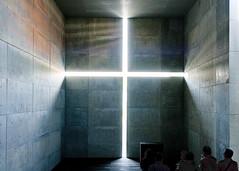 Church of Light (Kai-Ming :-))) Tags: churchoflight light nationalartcenter tokyo tadaoando kaiming kmwhk wall cross negativespace