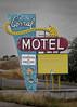 The Corral (Owen Dett) Tags: purple montana motel hotel old sign fifties west sleep bed aaa arrow