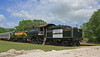 Former FRISCO 0-6-0 Steam Locomotive Number 3749 in Florida RR Museum Willow Yard. (gg1electrice60) Tags: parrish florida fl manateecounty willow willowroad route301 usroute301 us301 floridarailroadmuseum frrm frm gulfcoastrrmuseum gcrrm gcrm frisco frisco060number3749 frisco060no3749 frisco3749 steamengine steamlocomotive wheelarrangement060 switcher switchinglocomotive tender coaltender orangeblossomspecial fakeorangeblossomspecial fake publicitystunt truck cradle flatbed dollies seaboardrailroad seaboardcoastline sal willowmaintenancefacility willowyard railyard railroadyard rryard railroadstation railroaddepot railroadmuseum willowdepot willowstation sign helppreserve3749 donatetoday undergoingrestoration helprestore3749 ringlingbrothersbarnumbailey circuscar reportingmarksrbbx seaboarddiesellocomotive1633 seaboardrs31633 alcors3number1633 americanlocomotivecompany alco