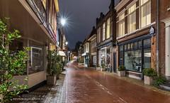 Vijzelstraat in Leeuwarden op dinsdag 31oktober