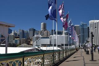 Prymont Bridge, Darling Harbour, Sydney.